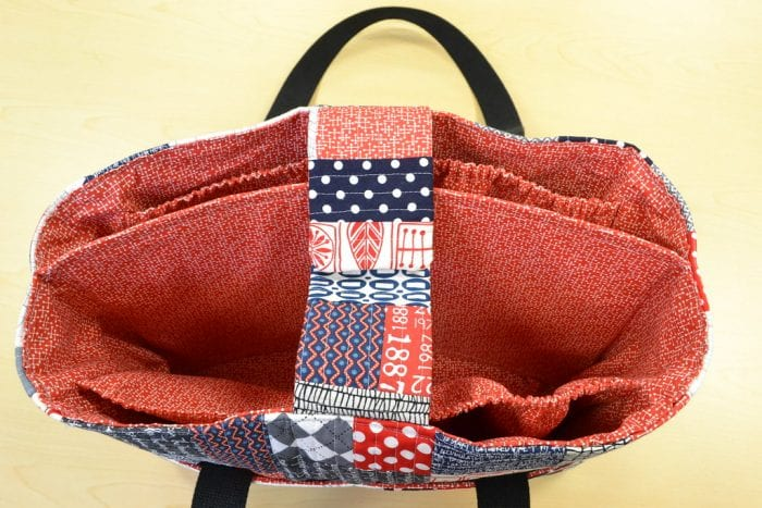 This diaper handbag has a good number of divisions perfect to segregate your child and your personal stuff.