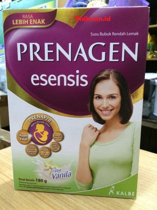 Prenagen Esensis Pregnancy Milk Powder. Loaded with nutrients that every pregnant woman needs. Drink this milk powder.