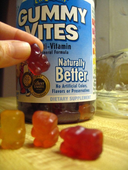 Gummy vitamins are easy to chew. Vitamin supplements in this form are easy to offer to kids. It's good for a child's mind.