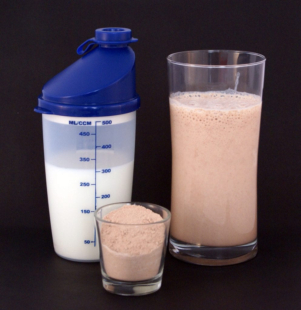 Protein shake made at home. Introduce new drink to your child as he or she grows.