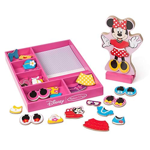 Melissa Doug Disney Minnie Mouse Toy. Would you go for this Melissa Doug version instead of the Minnie Mouse Bowtique?