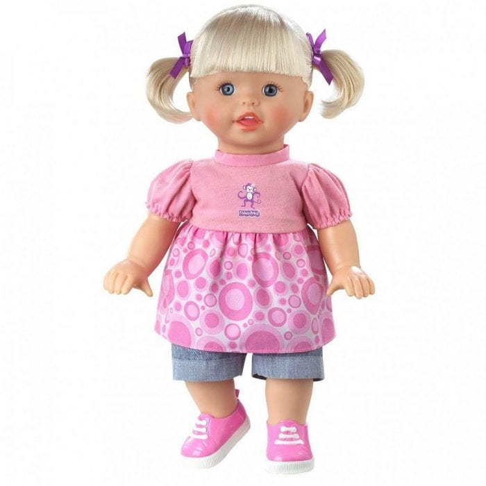 Madame Alexander Baby Huggums Doll: one of the top baby dolls for toddler who loves playing baby doll.