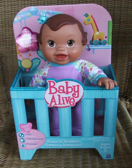 Baby Alive Baby Doll - one of the best baby doll choices for kids. Read more about Baby Alive Baby Dolls in The Best Baby Dolls For Toddlers Children Will Love