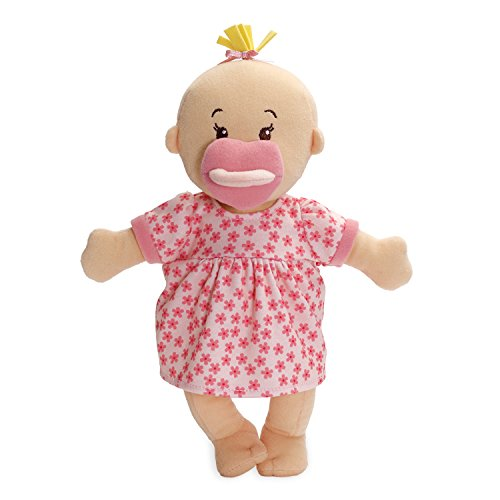 Plush baby doll. It is soft and a good baby doll choice for your kid.