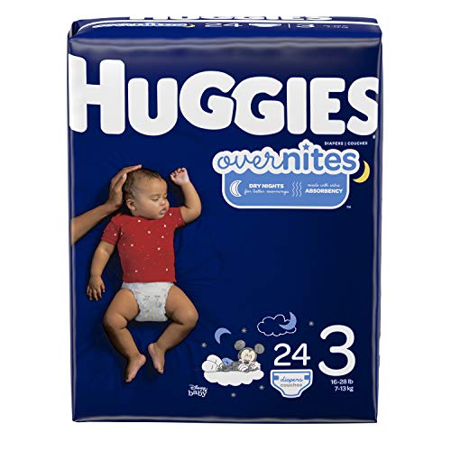 Huggies Overnites are dry night diapers. This overnight diaper is absorbent and can last upto 12 hours.