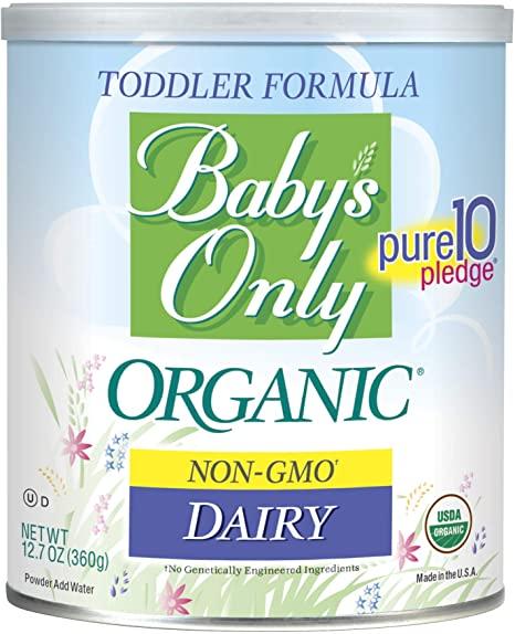 HiPP formula vs Holle formula: Baby's only organic non gmo dairy pure 10 pledge toddler formula