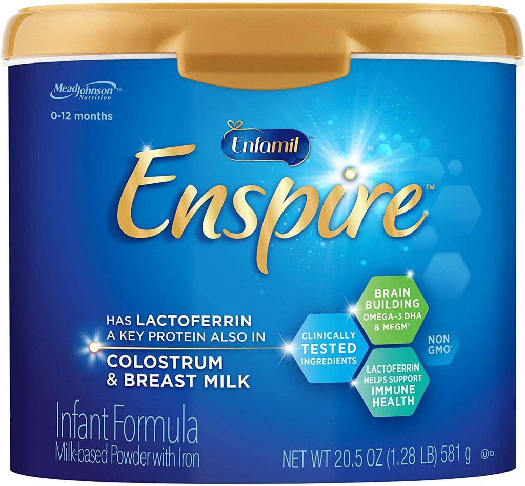 HiPP Formula vs. Holle Formula: Enfamil Enspire Baby Formula with Lactoferrin - (See Customer Reviews & Pricing)