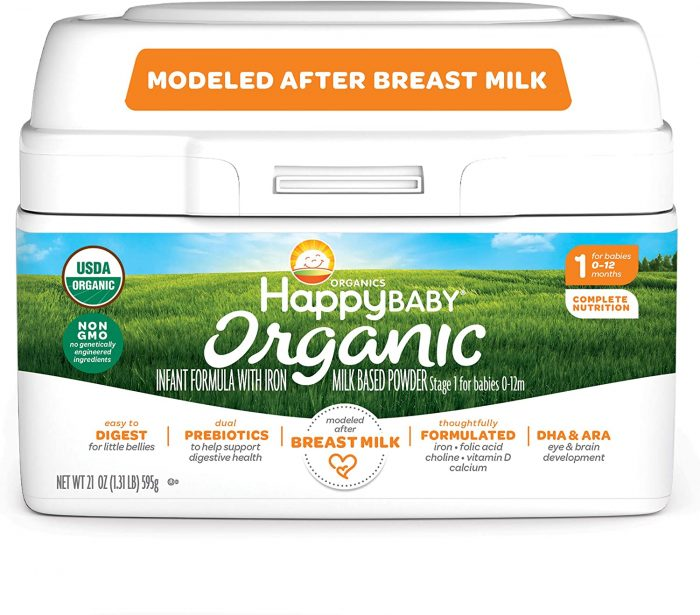 HiPP vs. Holle Formula: Happy Baby Organic Infant Formula Milk Stage 1 - (See Customer Reviews & Pricing)