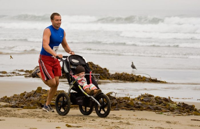 Baby Jogging Stroller. Check if all 3 wheel strollers are safe to use for jogging.