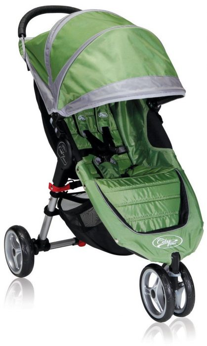 Baby Jogger City Mini is a 3 wheel stroller but not considered a jogging stroller.
