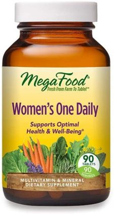 Megafood Fresh From Farm To Tablet Women's One Daily - multivitamins & dietary supplement made in United Sates