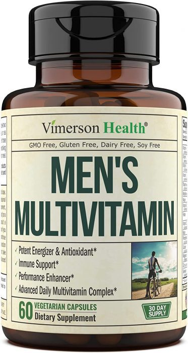 Vimerson Health Men's Multivitamins made in United States