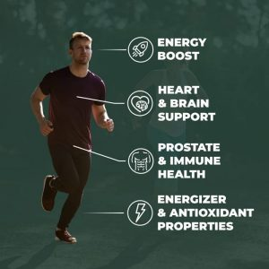 Vimerson vitamins boost energy, support heart and brain and has antioxidant properties. These men's vitamins are made in the USA.