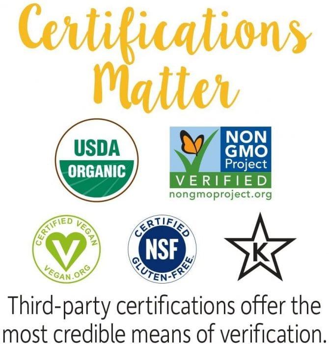 MyKind Organics vitamins made in USA is certified vegan