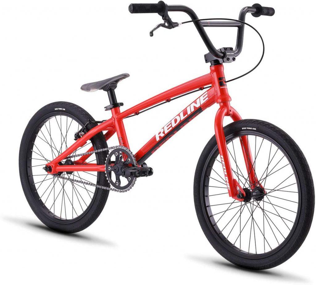 Redline Proline BMX Race Bike in red, black color
