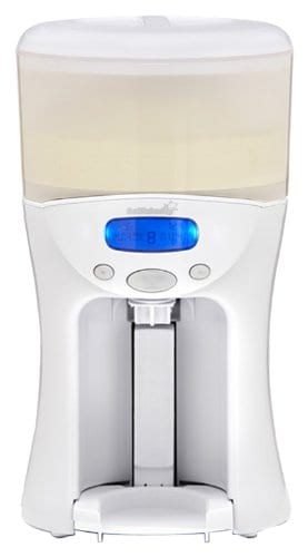 A formula mixer saves time and convenient to use. Babynes and baby brezza are 2 of the leading formula maker.