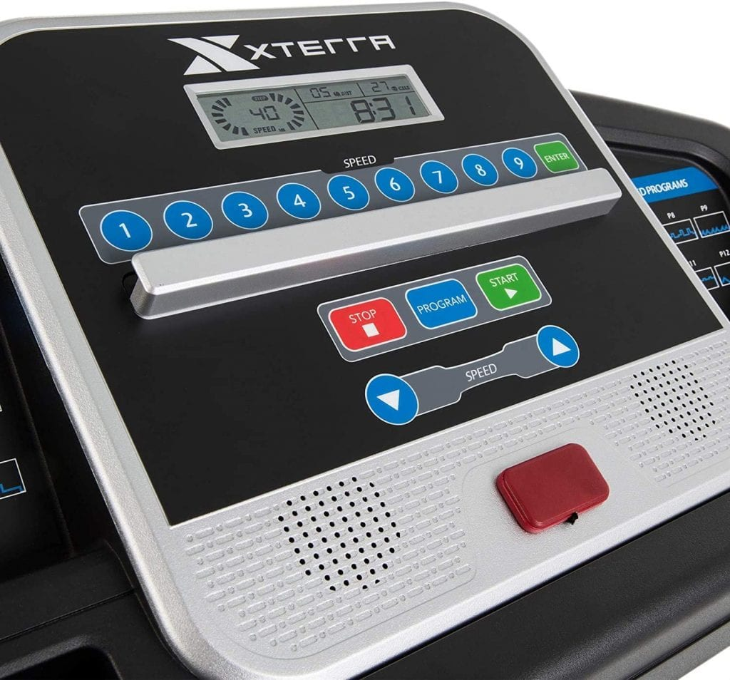 XTERRA Fitness TR150 Folding Treadmill. Find out the features in terms of speed performance of this treadmill.