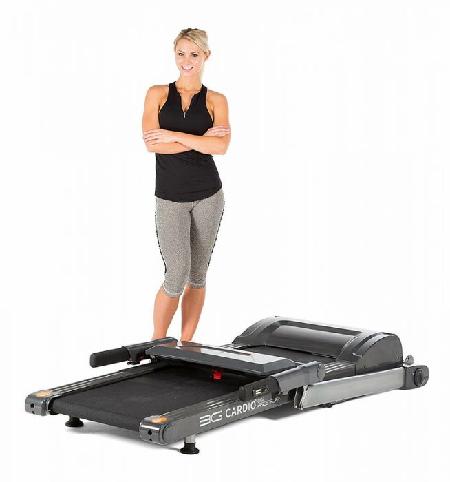 Folding treadmill. Find the most convenient treadmill to use that suits your budget.