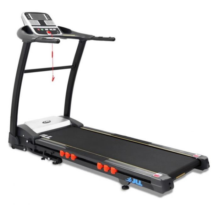 Compact treadmill with digital lcd screen.
