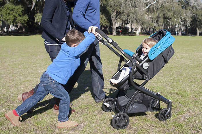 Urbini Stroller. This Urbini stroller is lightweight and a good choice for your travel needs.