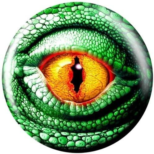 Brunswick Lizard Glow Viz-A-Ball Bowling Ball