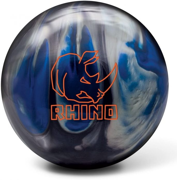 Brunswick Rhino Bowling Ball. A Made in Mexico bowling ball for straight bowlers