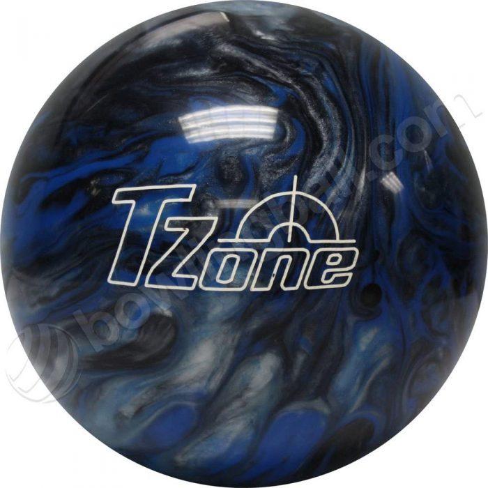 Brunswick Tzone Deep Space Bowling Ball. This bowling ball is made of high gloss polish.
