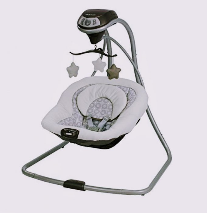 Graco Simple Sway Baby Swing with entertainment is Best Baby Swings