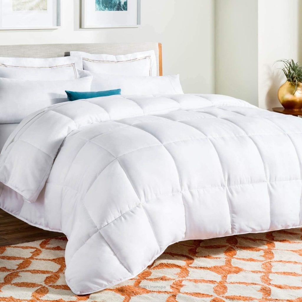 The Best down comforters.