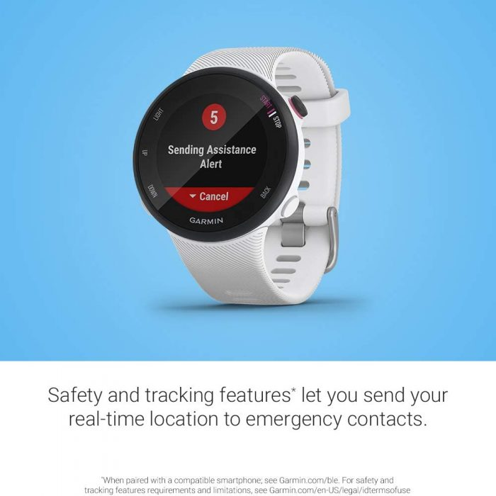 GPS watch.