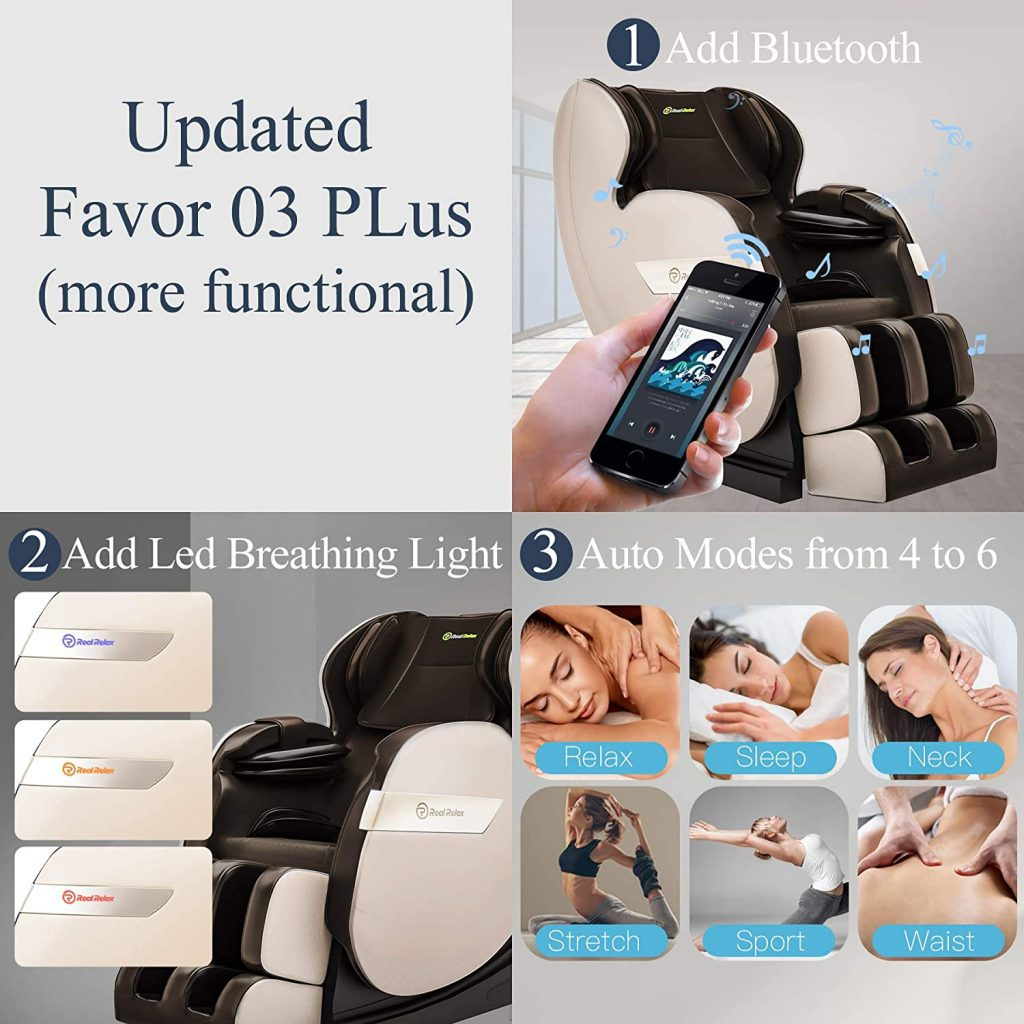 massage foot rollers on this chair; massage chair is affordable and the chair has footrest. Massage chair.