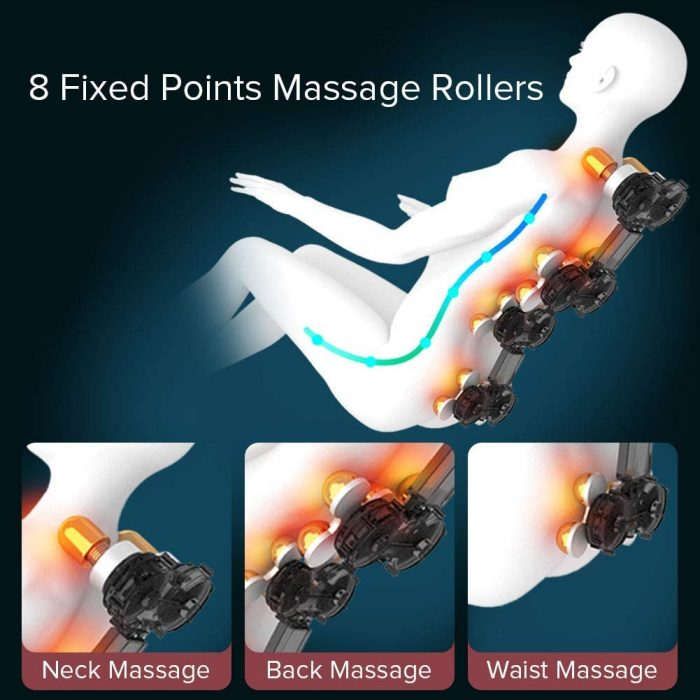 adjust the intensity of massage with this massage chair. Massage chair.