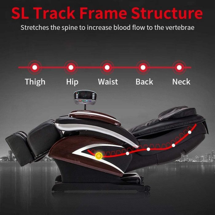 chair can stretch the spine to increase blood flow; massage chair has 9 massage programs chair. massage chair